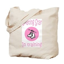 Pink Skating Star in Training Tote Bag