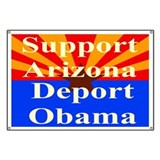 Arizona Deport Obama Banner