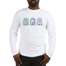 Westie Pastel Trio Long Sleeve T-Shirt