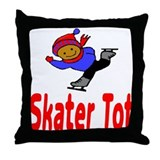 Skater Tot Jacob Throw Pillow
