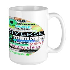 Friendly Universe Large Mug