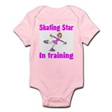 Skating Star in Training Abigail Infant Creeper