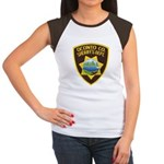 Oconto Sheriff's Dept Women's Cap Sleeve T-Shirt
