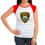 Oconto Sheriff's Dept Women's Cap Sleeve T-Shirt