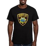 Oconto Sheriff's Dept Men's Fitted T-Shirt (dark)