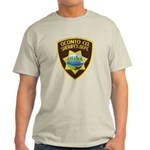 Oconto Sheriff's Dept Light T-Shirt
