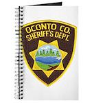 Oconto Sheriff's Dept Journal