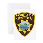 Oconto Sheriff's Dept Greeting Cards (Pk of 20)