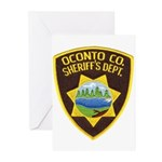 Oconto Sheriff's Dept Greeting Cards (Pk of 10)