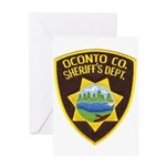 Oconto Sheriff's Dept Greeting Card
