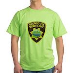 Oconto Sheriff's Dept Green T-Shirt