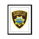 Oconto Sheriff's Dept Framed Panel Print