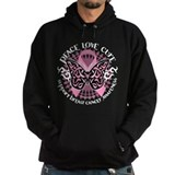 Breast Cancer Butterfly Triba Hoody
