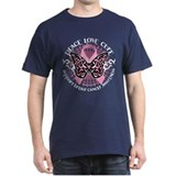 Breast Cancer Butterfly Triba T-Shirt