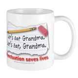 Punctuation Saves Lives Mug