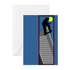 Skateboarding Greeting Cards (Pk of 20)