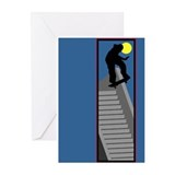 Skateboarding Greeting Cards (Pk of 10)