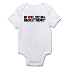 My Heart Physical Therapist Infant Bodysuit