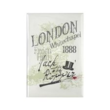 Jack the Ripper London 1888 Rectangle Magnet