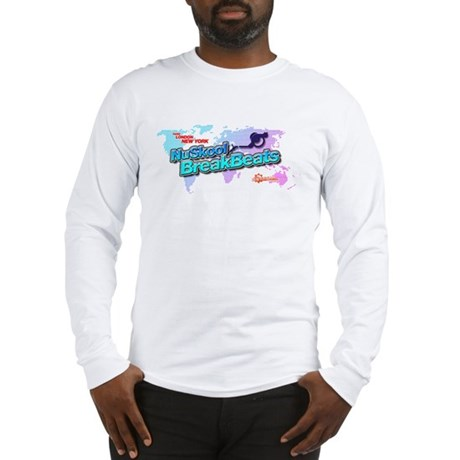 NuSkool BreakBeats Long Sleeve T-Shirt