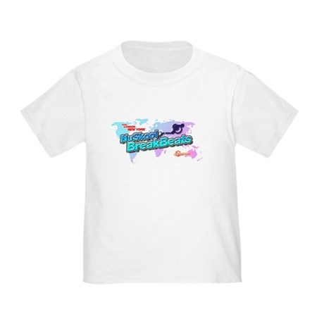 NuSkool BreakBeats Toddler T-Shirt