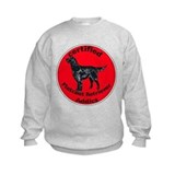 Certified Flatcoated Retriever Addict Sweatshirt