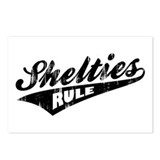 Shelties Rule Postcards (Package of 8)