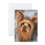 Yorkshire Terrier Greeting Cards (Pk of 10)
