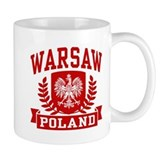 Warsaw Poland Small Mug