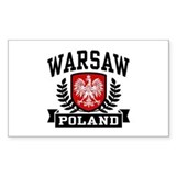 Warsaw Poland Decal