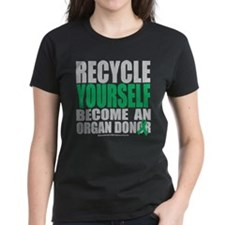 Organ Donor Recycle Yourself Tee