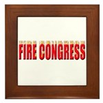 Fire Congress Framed Tile