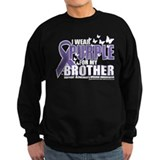 Alzheimers Purple For My Brot Sweatshirt
