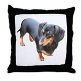 'Lily Dachshund Dog' Throw Pillow