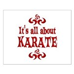 Karate Small Poster