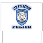 San Francisco Police Traffic Yard Sign