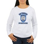San Francisco Police Traffic Women's Long Sleeve T