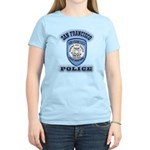 San Francisco Police Traffic Women's Light T-Shirt