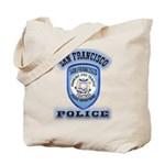 San Francisco Police Traffic Tote Bag