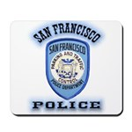 San Francisco Police Traffic Mousepad