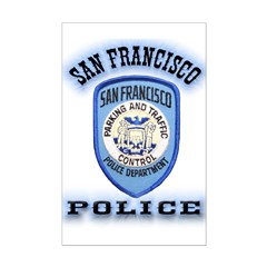 San Francisco Police Traffic Posters