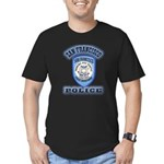 San Francisco Police Traffic Men's Fitted T-Shirt