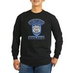 San Francisco Police Traffic Long Sleeve Dark T-Sh