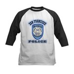 San Francisco Police Traffic Kids Baseball Jersey