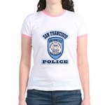 San Francisco Police Traffic Jr. Ringer T-Shirt