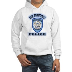 San Francisco Police Traffic Hooded Sweatshirt