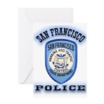 San Francisco Police Traffic Greeting Card