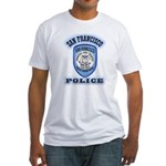 San Francisco Police Traffic Fitted T-Shirt