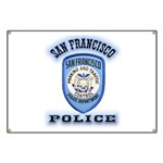 San Francisco Police Traffic Banner
