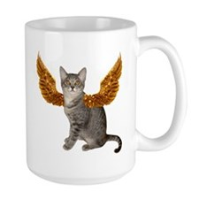 Cat Gold Wing Mug
